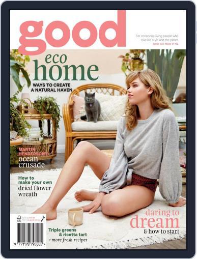 Good September 1st, 2018 Digital Back Issue Cover