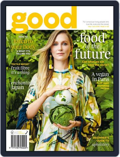 Good May 1st, 2018 Digital Back Issue Cover