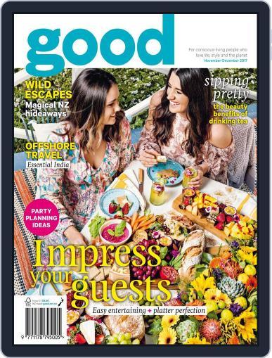 Good November 1st, 2017 Digital Back Issue Cover