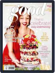 Good (Digital) Subscription October 31st, 2015 Issue