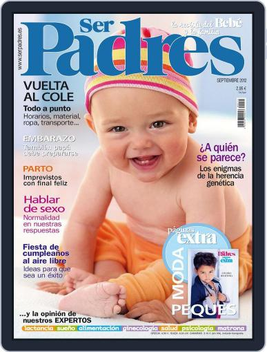 Ser Padres - España (Digital) August 21st, 2012 Issue Cover