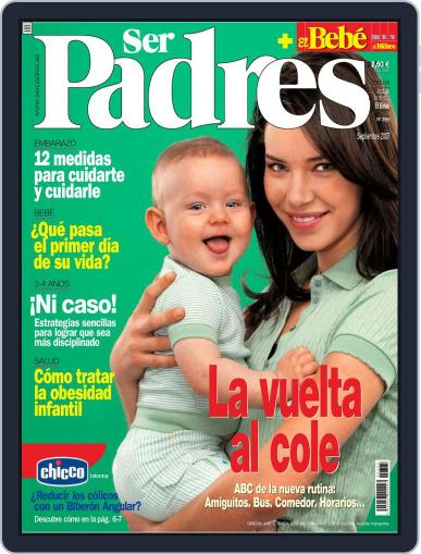 Ser Padres - España (Digital) August 14th, 2007 Issue Cover