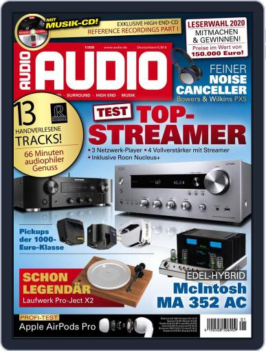 Audio Germany (Digital) January 1st, 2020 Issue Cover