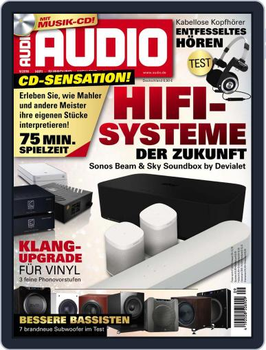 Audio Germany (Digital) September 1st, 2018 Issue Cover