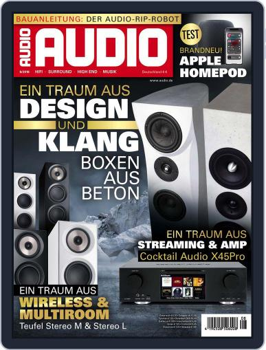 Audio Germany (Digital) August 1st, 2018 Issue Cover