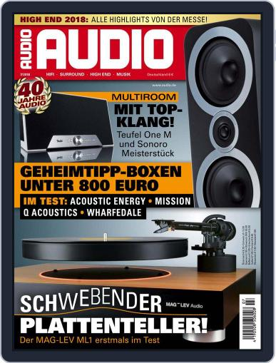 Audio Germany (Digital) July 1st, 2018 Issue Cover