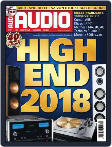 Audio Germany (Digital) June 1st, 2018 Issue Cover