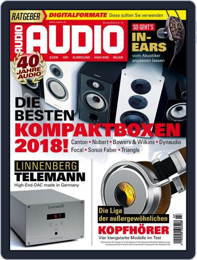 Audio Germany (Digital) March 1st, 2018 Issue Cover