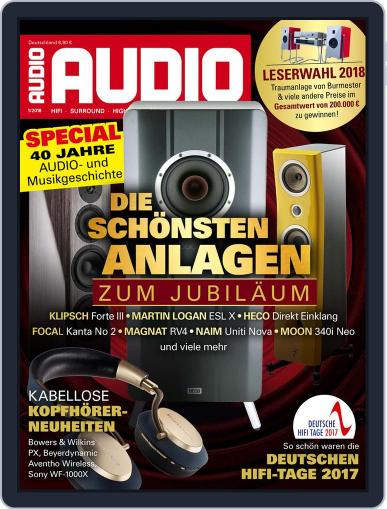Audio Germany (Digital) January 1st, 2018 Issue Cover