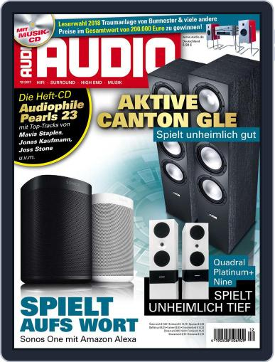 Audio Germany (Digital) December 1st, 2017 Issue Cover