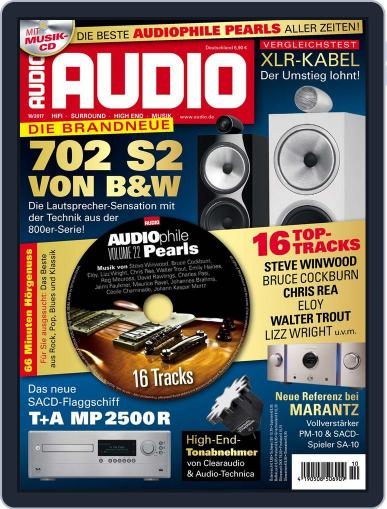 Audio Germany (Digital) October 1st, 2017 Issue Cover