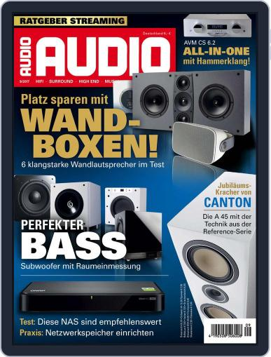 Audio Germany (Digital) August 4th, 2017 Issue Cover