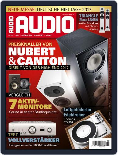 Audio Germany (Digital) August 1st, 2017 Issue Cover
