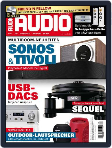 Audio Germany (Digital) July 1st, 2017 Issue Cover