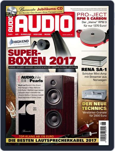 Audio Germany (Digital) June 1st, 2017 Issue Cover