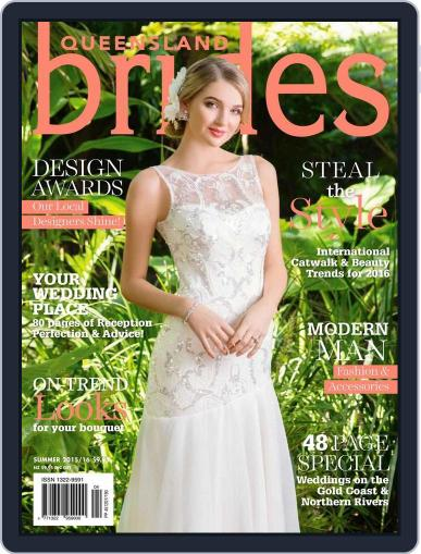 Queensland Brides (Digital) December 16th, 2015 Issue Cover