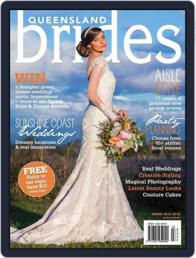 Queensland Brides (Digital) September 9th, 2015 Issue Cover