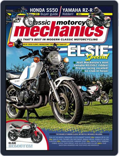 Classic Motorcycle Mechanics February 1st, 2020 Digital Back Issue Cover