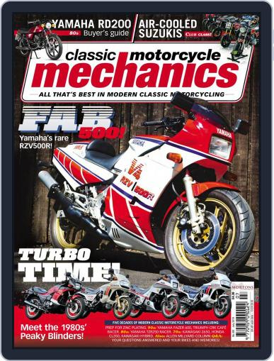 Classic Motorcycle Mechanics July 1st, 2019 Digital Back Issue Cover