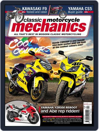 Classic Motorcycle Mechanics April 1st, 2019 Digital Back Issue Cover