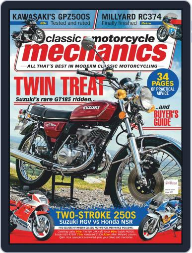 Classic Motorcycle Mechanics March 1st, 2019 Digital Back Issue Cover