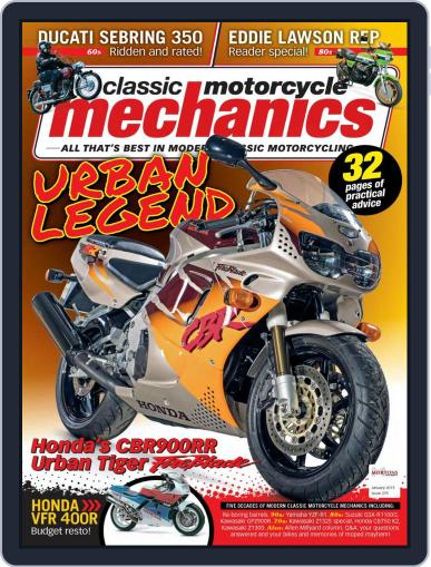 Classic Motorcycle Mechanics January 1st, 2019 Digital Back Issue Cover