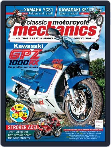 Classic Motorcycle Mechanics July 1st, 2018 Digital Back Issue Cover