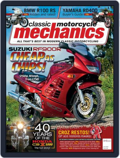 Classic Motorcycle Mechanics June 1st, 2018 Digital Back Issue Cover