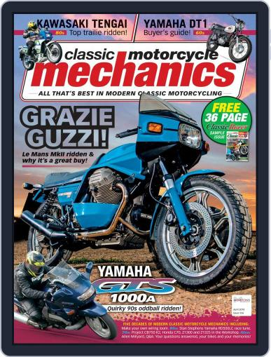 Classic Motorcycle Mechanics April 1st, 2018 Digital Back Issue Cover