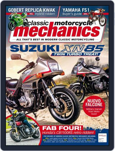 Classic Motorcycle Mechanics December 1st, 2017 Digital Back Issue Cover