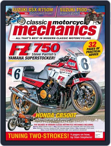 Classic Motorcycle Mechanics November 1st, 2017 Digital Back Issue Cover