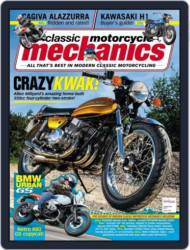 Classic Motorcycle Mechanics September 1st, 2017 Digital Back Issue Cover
