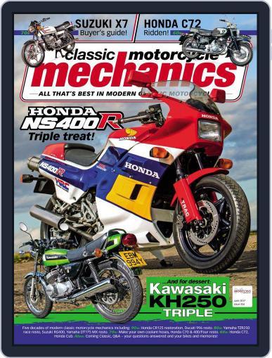 Classic Motorcycle Mechanics June 1st, 2017 Digital Back Issue Cover