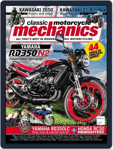 Classic Motorcycle Mechanics April 1st, 2017 Digital Back Issue Cover