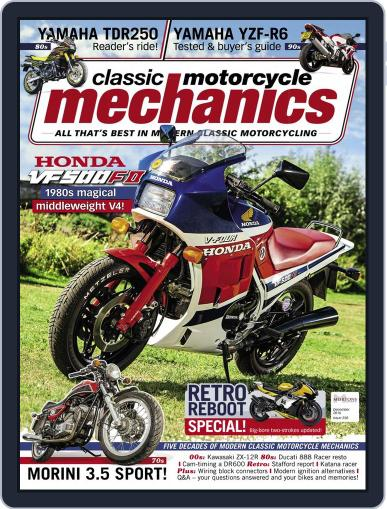 Classic Motorcycle Mechanics December 1st, 2016 Digital Back Issue Cover