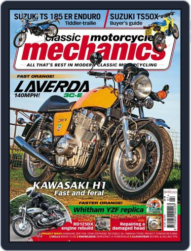 Classic Motorcycle Mechanics June 15th, 2015 Digital Back Issue Cover