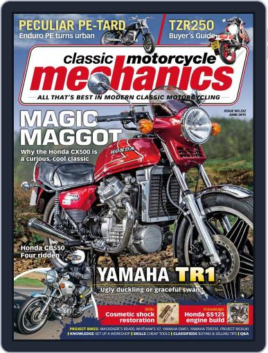 Classic Motorcycle Mechanics May 20th, 2015 Digital Back Issue Cover