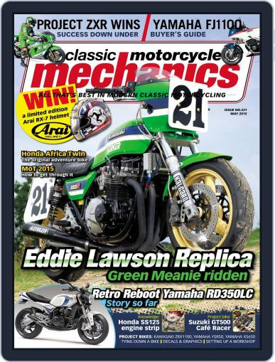 Classic Motorcycle Mechanics April 13th, 2015 Digital Back Issue Cover