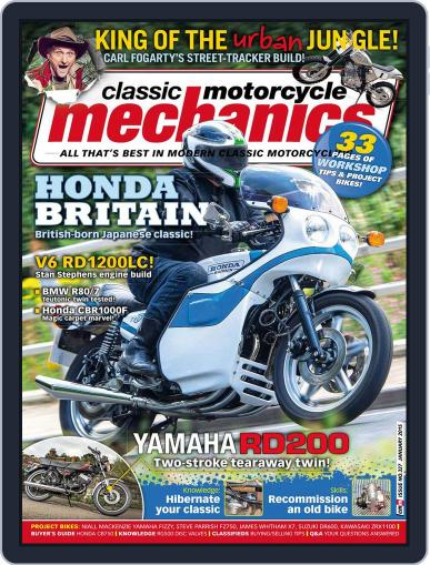 Classic Motorcycle Mechanics December 15th, 2014 Digital Back Issue Cover