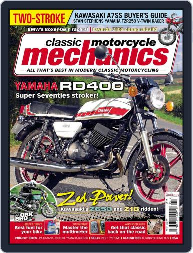 Classic Motorcycle Mechanics June 16th, 2014 Digital Back Issue Cover