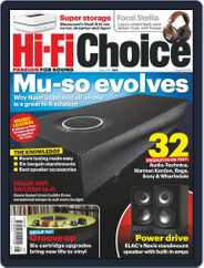 Hi-Fi Choice (Digital) Subscription August 1st, 2019 Issue