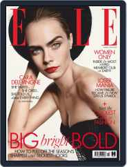 Elle UK (Digital) Subscription October 1st, 2019 Issue