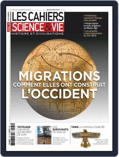 Les Cahiers De Science & Vie (Digital) July 1st, 2019 Issue Cover