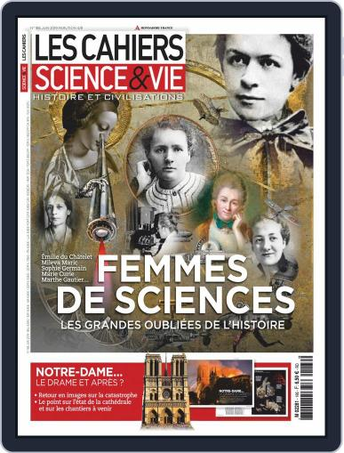 Les Cahiers De Science & Vie (Digital) June 1st, 2019 Issue Cover