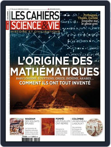 Les Cahiers De Science & Vie (Digital) July 1st, 2018 Issue Cover