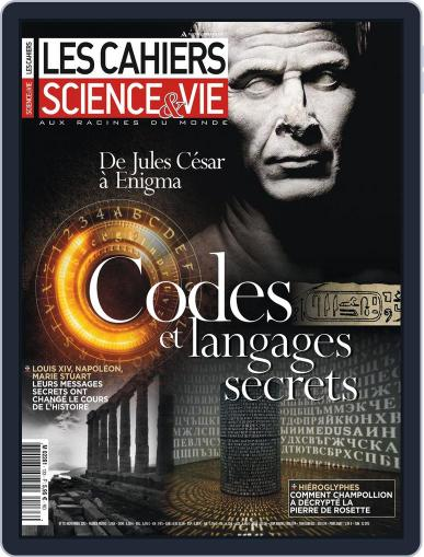 Les Cahiers De Science & Vie (Digital) October 25th, 2012 Issue Cover
