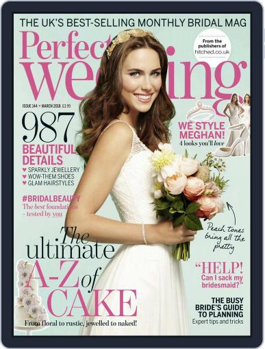 Perfect Wedding (Digital) March 1st, 2018 Issue Cover