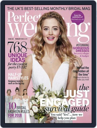 Perfect Wedding (Digital) February 1st, 2018 Issue Cover