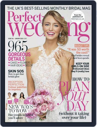 Perfect Wedding (Digital) January 1st, 2018 Issue Cover