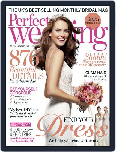 Perfect Wedding (Digital) November 1st, 2017 Issue Cover